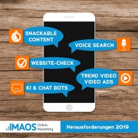 Online Marketing Herausforderungen 2019