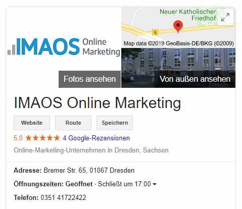 IMAOS Local SEO